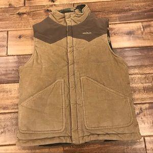 Boys Oshkosh Corduroy & Camo Vest Size 7